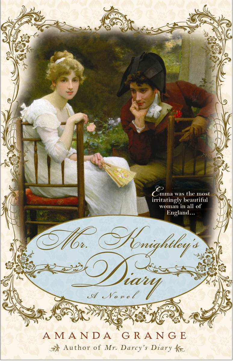 Mr Knightley's Diary cover
