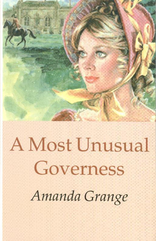 A Most Unusual Governess Cover